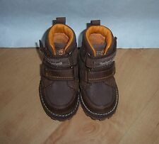 BNIB Timberland toddlers asphalt two strap brown boots size UK 4 EU 20.5