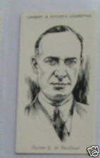 #13 captain g de havilland card