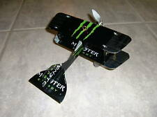 MONSTER ENERGY DRINK Airplane. Made from REAL cans