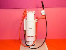 Auslaufgarnitur mit Druckspirale/Bowdenzug, rot/schwarz für SANIT UP-Spülkasten