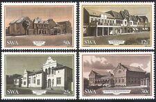 SWA/South West Africa 1985 Windhoek/Stazione/edifici 4 V Set (sw10104)