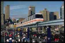 Signe Métallique 512017 Sydney monorail Darling Harbor NSW Australia A4 12x8 aluminium