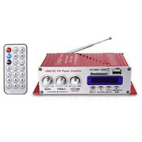 Kentiger HY-502S 2CH Bluetooth Amplifier Hi-Fi Super Bass Output Power Stereo L0