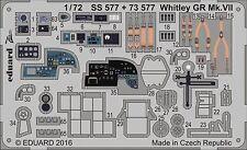 Eduard PE 73577 1/72 armstrong-whitworth Whitley Mk.VII AIRFIX
