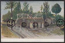 356R  Künstler  AK  Ansichtskarte  Gemälde von K. Lehmann 6.RR102  Feldpostkarte