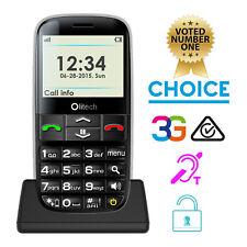 Olitech Easy Mate+ 3G Unlocked Mobile Phones Seniors 16GB MicroSD