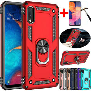 For Samsung Galaxy A11 A21 A10e A10s A20s A50 A71 Shockproof Case+Tempered Glass