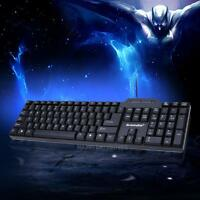 1200DPI Waterproof USB Wired Gaming Keyboard Multimedia For PC Laptop Desktop