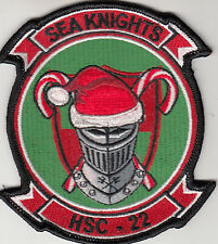 HSC-22 SEA KNIGHTS CHRISTMAS CHEST PATCH