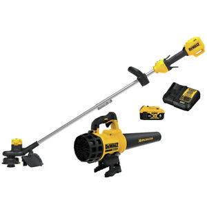 DeWALT DCKO975M1 Cordless 20V DCST925 String Trimmer DCBL720 Blower Combo Kit