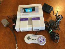 New listing Super Nintendo Snes Original System Console & Controller , Mario