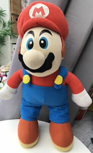 "Super Mario Bros 16"" Kellytoy Soft Doll Plush Blue Eyes Rare Nintendo 2005"