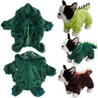 Haustier Hund Winter Warm Kleidung Hoodie Pullover Welpen Jacke Mantel Kostüme