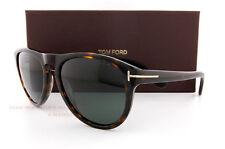 Brand New Tom Ford Sunglasses TF 0347 347 Kurt 56R Havana/Gray For Men