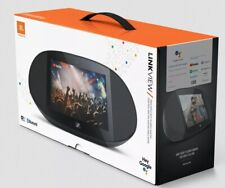 "JBL LINK VIEW 8"" Virtual Google Assistant Speaker HD Touch Screen- Black"