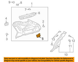 62488-48021-A1 Toyota Cover, roof side inner garnish, lh 6248848021A1, New Genui