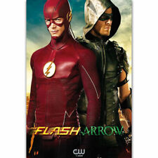 The Supergirl Flash Arrow CW DC TV Series Hot Poster K-1497