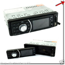 AUTORADIO STEREO AUTO FRONTALINO ESTRAIBILE RADIO FM MPD USB SD AUX MOD 1208E