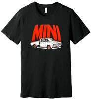 1980's Vintage Mini Truck (Truckin) - 100% Ringspun Cotton T-Shirt