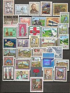 Österreich 1988 Kompletter Jahrgang Postfrisch ** MNH