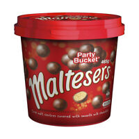 Mars Maltesers Party Bucket 465g Sweets Snack Crunchy Chocolate Bite Size Treats