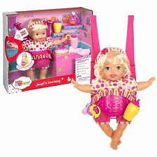 """Fisher Price Little Mommy """" Laugh Love Doll""""  Interactive Blonde - Brand New"""
