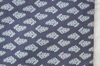 1 Yard Indian Handmade Sanganer Print cotton fabric Hand Block Fabric Floral*