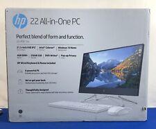 HP 22-df0013w All-in-One PC 256GB SSD Win 10 4GB Intel Celeron NEW