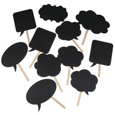Black cards+chalk Photo Booth Props Love Diy Photography Wedding Decor Party Agr