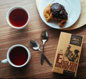 Ceylon Premium Black Tea Pure Tea Zesta ENGLISH Breakfast Tea 50tea bags SL TEA