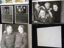 Orig. Lot Fotos Luftwaffe Soldat 2.WK 3.Reich WWII Uniform Spange Photo Agfa