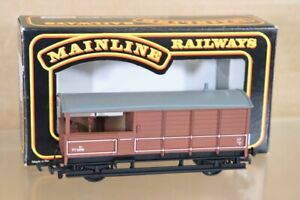 MAINLINE 37-155 BR BROWN WR TOAD BRAKE VAN WAGON W68816 MINT BOXED nt