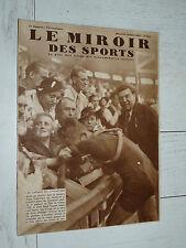 MIROIR SPORTS 1935 N°842 CYCLISME TOUR FRANCE ROMAIN MAES VAINQUEUR TENNIS DAVIS