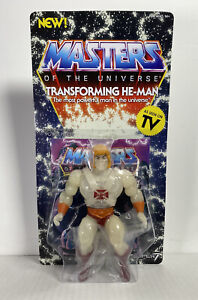 "2020 Super7 -  Masters of the Universe 5.5"" Retro Figure: TRANSFORMING HE-MAN"