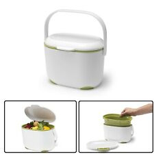 Mini Food Waste Bin Addis 2.5 L Kitchen Compost Caddy Small Removable Lid
