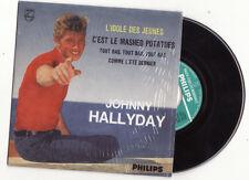 CD EP JOHNNY HALLYDAY -L'IDOLE DES JEUNES-FRENCH