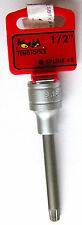 Teng Tools M122808-C SCANALATE  8 Lunghe 12 punte punta a bussola 1.3cm dr. XZN