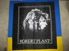 1990 Robert Plant cloth tapestry poster Manic Nirvana concert tour Led Zeppelin