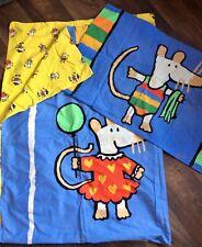 Maisy Mouse Single Duvet Cover & Pillowcase Set 1999 Great Condition