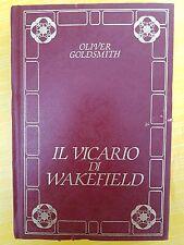 LIBRO OLIVER GOLDSMITH - IL VICARIO DI WAKEFIELD - BIBLIOTECA PERUZZO 1986