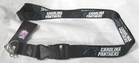 NFL Carolina Panthers Black Breakaway Lanyard
