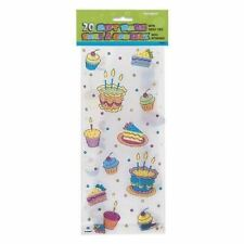 20 Cake Cello Bags Loot Party Favour Sweet Treat Gift Kids Toy Filler Birthday