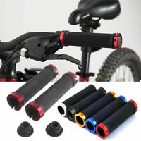 Double Lock On BMX MTB Bike Mountain Bicycle Scooter Handle Bar Grips Cycling UK