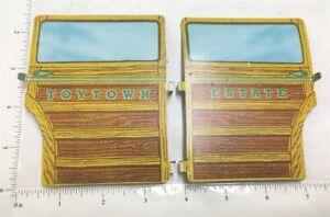 Wyandotte Toytown Estate Wagon Pressed Steel Side Door Replacements L&R WYP-022D