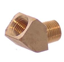 1-8 Npt 45° Elbow Brass - Air Fitting