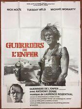 Affiche LES GUERRIERS DE L'ENFER Who'll stop the rain NICK NOLTE 120x160cm