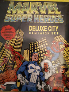TSR Marvel Super Heroes Deluxe City Campaign Set. Complete. 1989