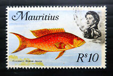 Fish Used Mauritian Stamps