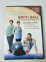 Gianni's Fusion Pilates Exercise DVD Birth Ball Pre & Post Pregnancy Baby New