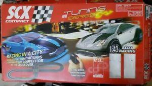SCX COMPACT TUNING SERIES 1:43 SCALE SLOT CAR RACING SET  no box no cars